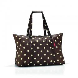 Torba mini maxi travelbag mocha dots - REISENTHEL