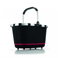 Koszyk carrybag 2 black - REISENTHEL