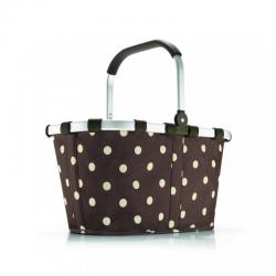 Koszyk carrybag mocha dots - Reisenthel
