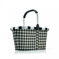 Koszyk carrybag fifties black - REISENTHEL