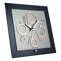 Zegar ścienno-stołowy Metropolis 117 MRL metal lucido - Incantesimo Design