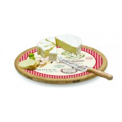 Deska obrotowa do serów z nożem 888 MAFR - NUOVA R2S