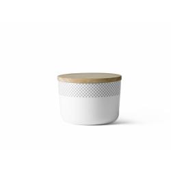 Pojemnik kuchenny  z pokrywką Grey Stiches - Menu