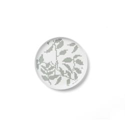 Talerz płaski Grey Leaves, 20 cm - Menu