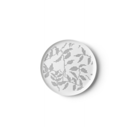 Talerz płaski Grey Leaves - Menu