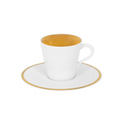 Zestaw 2 filiżanek do kawy - GLAMOUR GOLD
