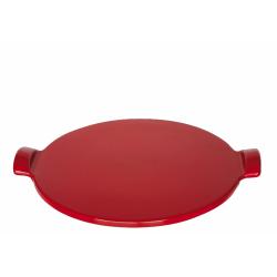 Kamień do pieczenia pizzy średni - czerwony - Emile Henry
