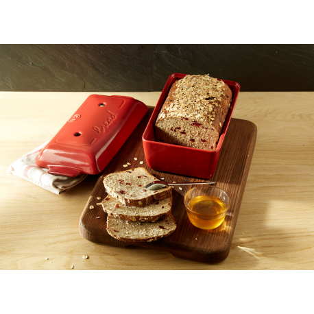 Forma do pieczenia chleba - czerwona - Emile Henry