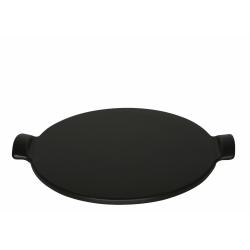 Kamień do pieczenia pizzy średni - czarny - Emile Henry