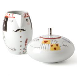 Zestaw porcelanowy - mlecznik i cukiernica TEA WITH ALICE - VISTA ALEGRE