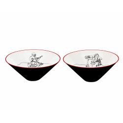 Zestaw porcelanowy 2 misek - FADO (1)