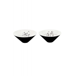 Zestaw porcelanowy 2 misek - FADO (2)