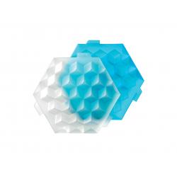 Foremka do lodu ICE CUBE niebieska - Lekue