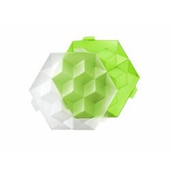 Foremka do lodu ICE CUBE GIANT zielona - Lekue
