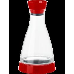 Karafka chłodząca FLOW Friends (akryl, czerwona) 1L - EMSA