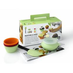 Zestaw do muffinów MUFFINS&KIDS - Lekue