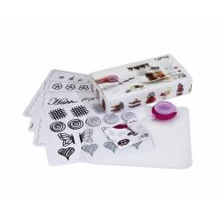 Zestaw do dekoracji z czekolady DECOMAT KIDS - Lekue
