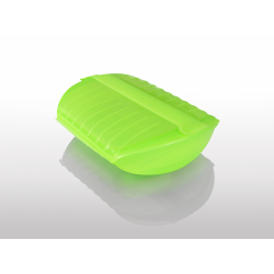 Naczynie żaroodporne z wkładką średnie - zielone - Lekue