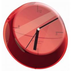 Zegar ścienny Glamour czerwony - BUGATTI