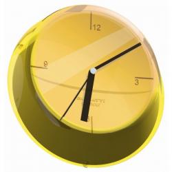 Zegar ścienny Glamour żółty - BUGATTI
