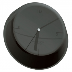 Zegar ścienny Glamour nero-czarny - BUGATTI