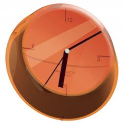 Zegar ścienny Glamour pomarańczowy - BUGATTI