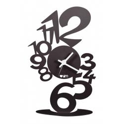 Zegar stojący - biurkowy  LUPIN TAVOLO Czarny - Arti&Mestieri