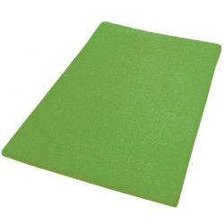 Dywanik łazienkowy 70x120 cm Kansas zielony - Kleine Wolke