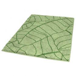 Dywanik łazienkowy 60x100 cm Kingston zielony - Kleine Wolke