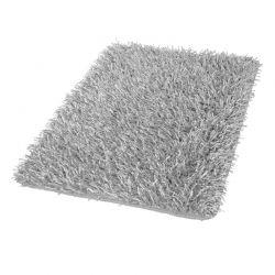 Dywanik łazienkowy 60x100 cm Riva srebrnoszary - Kleine Wolke