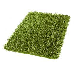 Dywanik łazienkowy 60x100 cm Riva trawiasty - Kleine Wolke