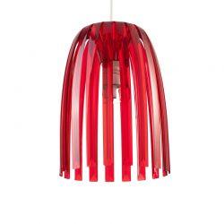 Lampa wisząca Josephine S, czerwona -  KOZIOL