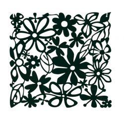 Panel dekoracyjny Alice czarny 4 szt. - KOZIOL