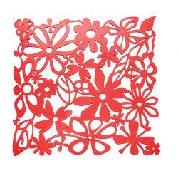Panel dekoracyjny Alice czerwony 4 szt. - KOZIOL
