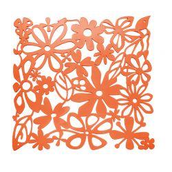 Panel dekoracyjny Alice pomarańczowy 4 szt. - Koziol