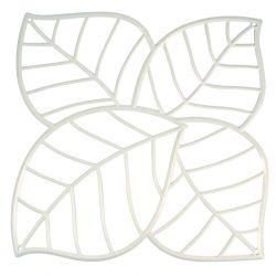 Panel dekoracyjny Leaf biały 4 szt. - Koziol