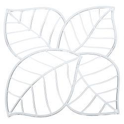 Panel dekoracyjny Leaf transparentny 4 szt. - Koziol