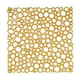Panel dekoracyjny Oxygen pomarańczowy 4 szt. - KOZIOL