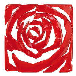 Panel dekoracyjny Romance czerwony 4 szt. - KOZIOL