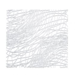 Panel dekoracyjny Silk transparentny 4 szt. - Koziol