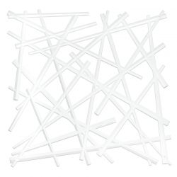 Panel dekoracyjny Stixx biały 4 szt. - Koziol
