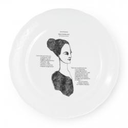 Talerz płaski Great Inventors - Fabryka Porcelany Kristoff