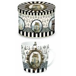 Porcelanowy kubek w blaszanym pudełku 217 CATA - NUOVA R2S