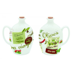 Porcelanowy dzbanek na oliwę lub ocet 75 cl. - NUOVA R2S
