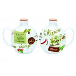 Porcelanowy dzbanek na oliwę lub ocet 50 cl. - NUOVA R2S