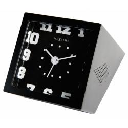 Zegar Be Square 5171 zw, czarny - NEXTIME