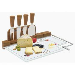Krajalnica bambusowa do sera z nożami 810KIBF - Nuova R2S