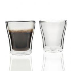Zestaw szklanek 2szt z podw. ścianką DUO 88ml - Leonardo