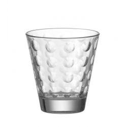 Szklanka niska OPTIC bezbarwna 220 ml - Leonardo