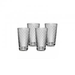 Zestaw 4cz. szklanek do latte Honeycomb - WMF